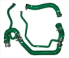 PPE Green Silicone Coolant Hoses 2006-2010 Duramax Diesel Green