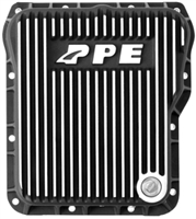 PPE Allison 1000/2000 Deep Sump Trans Pan Brushed Black