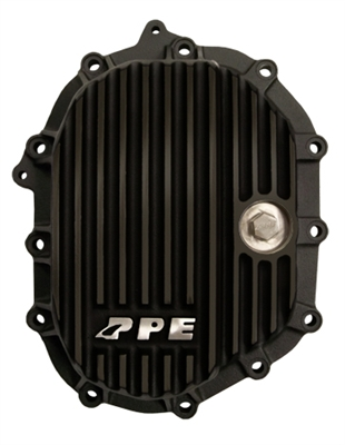 PPE Front Aluminum Diff Cover Black Finish 2011-Up LML 4WD