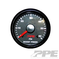 PPE Turbo Boost Gauge 0-60 PSI for 2001-2012 Duramax Diesel