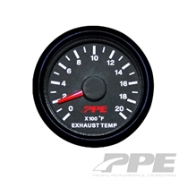 PPE Pyrometer (EGT) Gauge 0-2000 degree