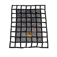 Gladiator Heavy Duty Cargo Net with Rip-Stop Mesh Netting