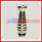 Chrome Cannon Drip Tip