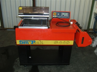 Used Smipack S440 Shrink Wrapper