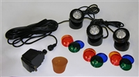 AB873LR - Three-light LED Light Kit with Rubber Stopper