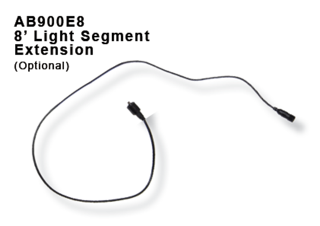 AB900E8 - 8-foot Light Segment Extension