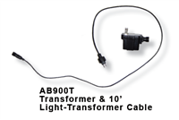 AB900T- Transformer and 10-foot Light-to-transformer Cable