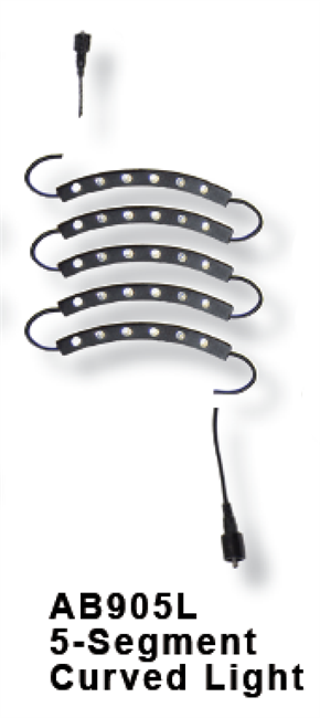 AB905L - Five-segment Curved Light