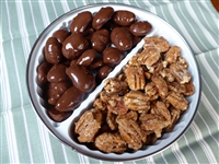 Double Tin of Texas Pecan Halves at Palestine Texas Pecans