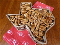 Texas Gift Basket of Pecan Halves at Palestine Texas Pecans