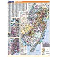 New Jersey Highway City County map