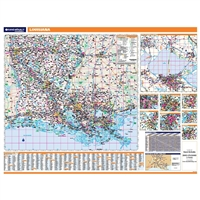 Louisiana Highway City County map