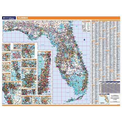 Florida Highway City County map