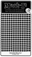 "600 black 1/8"" map stick-on map dots"