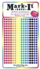 "600  Mixed Colors Solid  1/8"" map stick-on map dots"