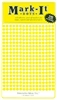 "600 Yellow 1/8"" map stick-on map dots"