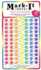 "840 stick-on dots 1/4"" map stickers"