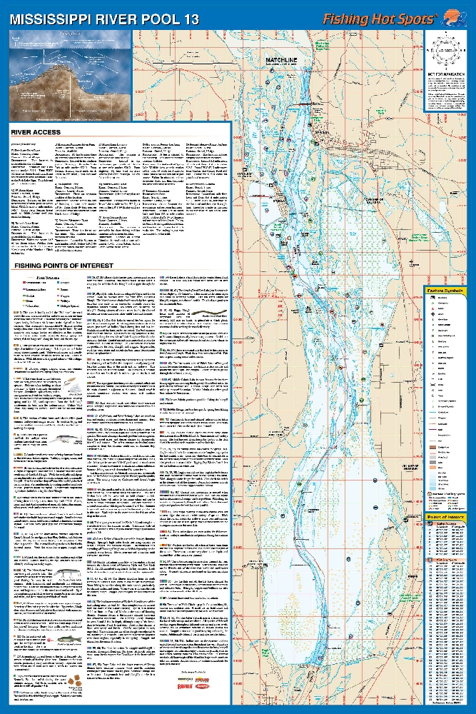 Mississippi RiverPool Iowa - Map of the mississippi river