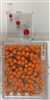 "Orange, medium, round-head MAP PINS 100/box. 1/8"" head and 5/16"" shaft length."