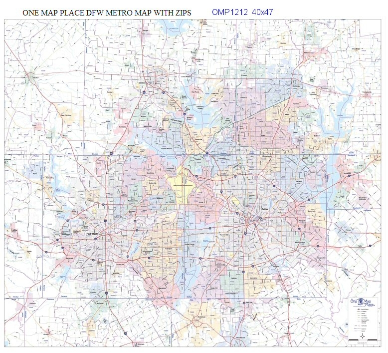 Dallas Fort Worth Metro Area Zip Codes 40x47