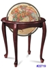 "QUEEN ANNE 16"" INCH GLOBE ANTIQUE OCEAN"