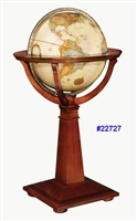 "LOGAN 16"" INCH GLOBE ANTIQUE OCEAN"