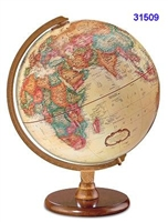 "HASTINGS 12"" INCH GLOBE ANTIQUE RAISED-RELIEF"