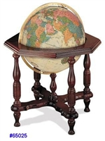 "STATESMAN 20"" inch GLOBE ANTIQUE Lighted Globe"