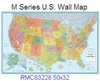 Rand McNally United States M Series 50 x 32