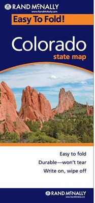 Colorado Easy to fold map
