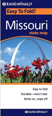 MISSOURI Easy To Fold map