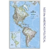National Geographic The Americas map