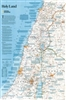 National Geographic Holy Land map