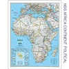 National Geographic Africa Map