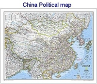 National Geographic China map