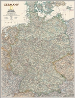 National Geographic map Germany