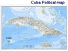 National Geographic Cuba map