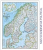 National Geographic map containing Scandinavia