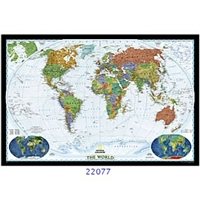 National Geographic World Map Decorator