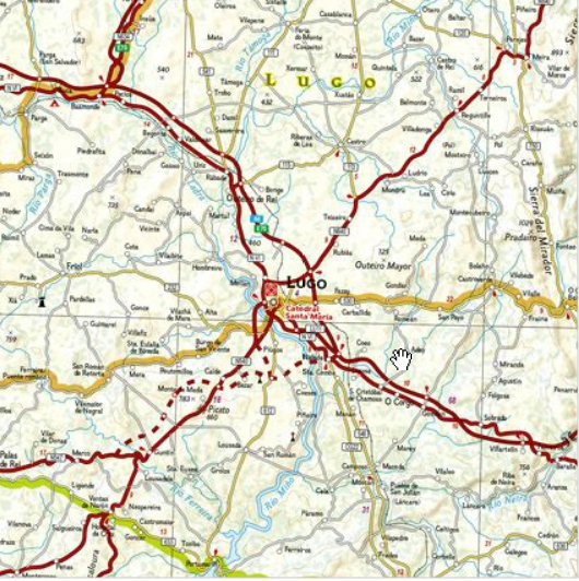 Map Of Northern Spain.Northern Spain Fold Map National Geographic Adventure Map