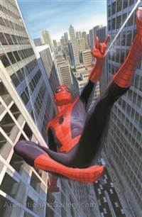 Learning to Crawl: Spiderman  - Matted Litho