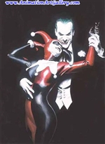Tango with Evil Alex Ross Limited Edition Print on Paper