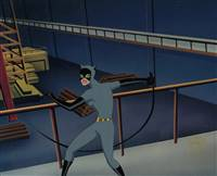 Original Production Cel of Catwoman from Batman the Animated Series