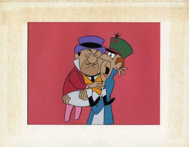 Production Cel of Two Con-Men from Hanna-Barbera