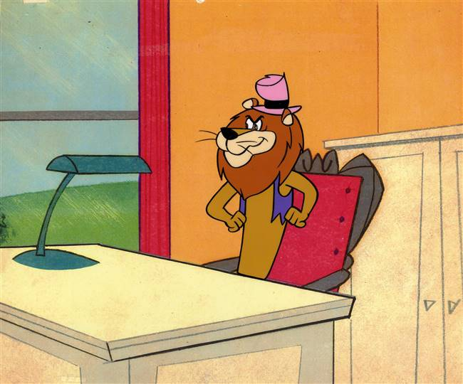 Production Cel of Lippy Lion from Lippy the Lion and Hardy Har Har