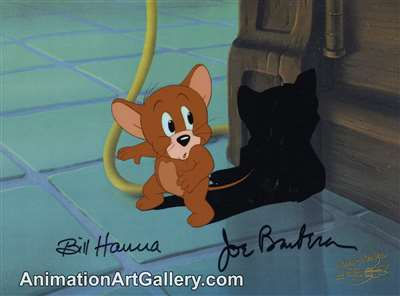 Production Cel of Jerry  from Hanna Barbera (c.1990s)