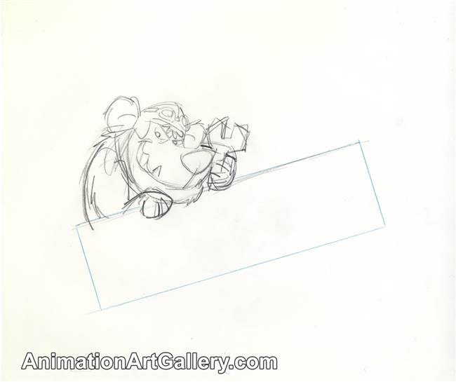 Publicity Drawing of Muttley from Hanna Barbera (1990s)