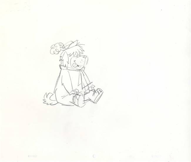 Publicity Drawing of Dum Dum from Touche Turtle