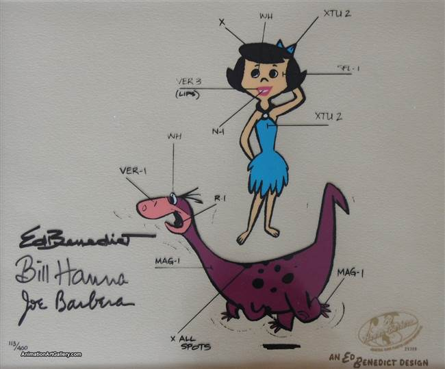 Ed's Model Sheet - Betty 