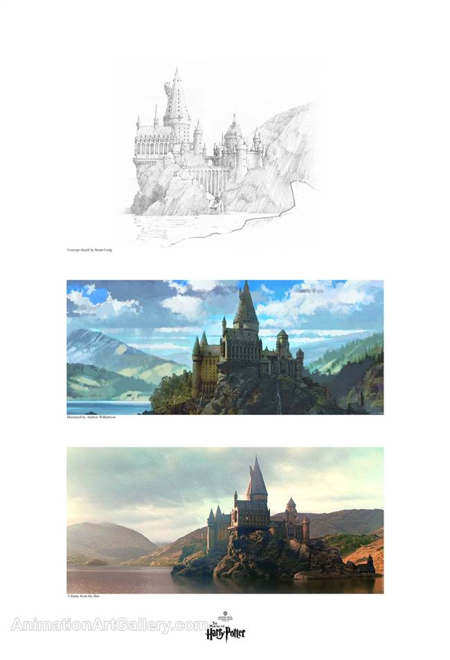 Creating Hogwarts & the Black Lake
